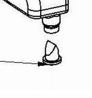 RP33460 Duck Bill for water bottle