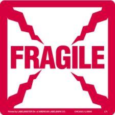 Fragile Labels AMS501